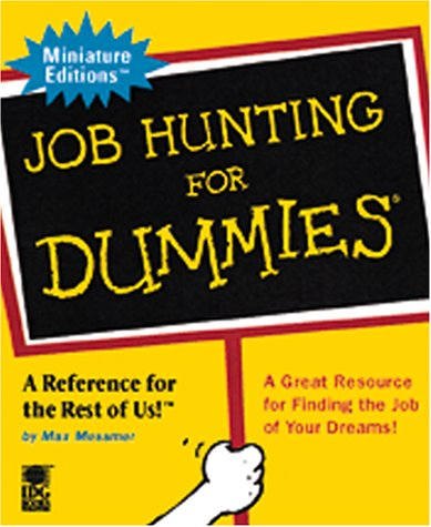 9780762409877: Job Hunting For Dummies (Miniature Editions for Dummies (Running Press))