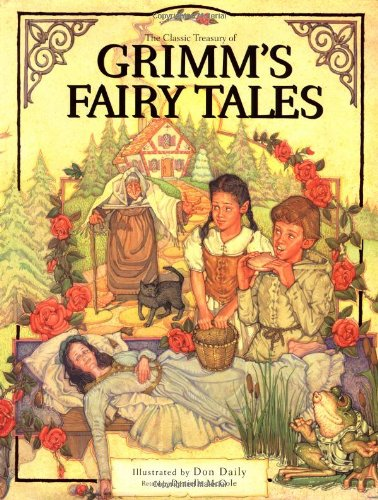 9780762411153: The Classic Treasury of Grimm's Fairy Tales