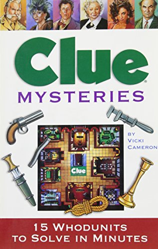 9780762412082: Clue Mysteries: 15 Whodunits to Solve in Minutes