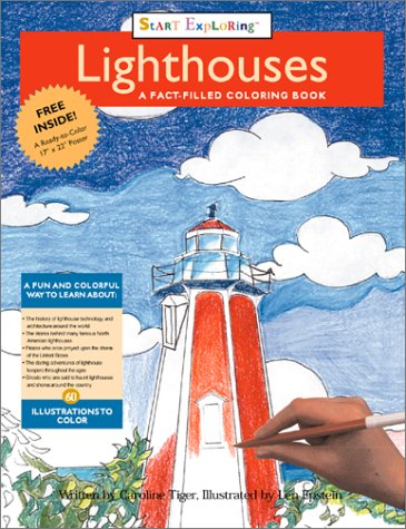 9780762412334: Lighthouses: a Fact-filled Coloring Book (Start Exploring)