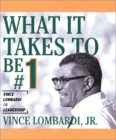 Irresistible Miniature Editionstm Ser. Little Books to: Vince, Jr. Lombardi