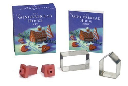 9780762413720: The Mini Gingerbread House Kit [With Mini Cookie Cutters, Chimneys]