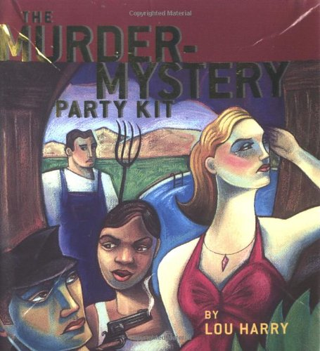 9780762413744: The Murder-Mystery Party Kit [With Six Nametag Stickers, Booklets] (Miniature Editions)