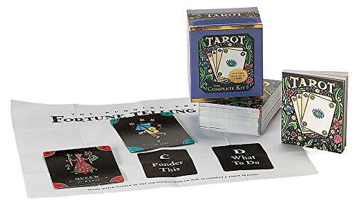 9780762413829: TarotTarot Card Deck and Book Set Complete Mega Mini Kit Fortune Telling Men Women Teen (Miniature Editions)