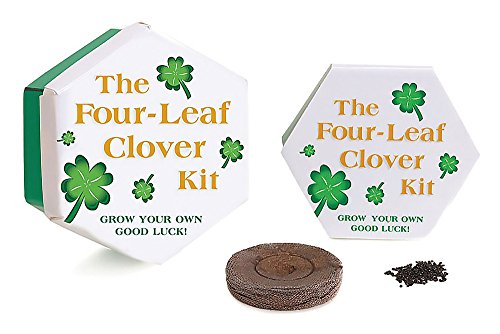 9780762414734: The Four Leaf Clover Kit [With Seeds & a Pot]: Grow You Own Good Luck! (Miniature Editions)