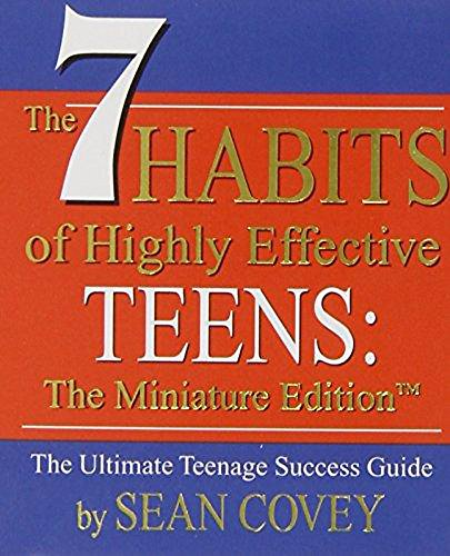 9780762414741: The 7 Habits of Highly Effective Teens the Ultimate Teenage Success Guide: Miniature Editon