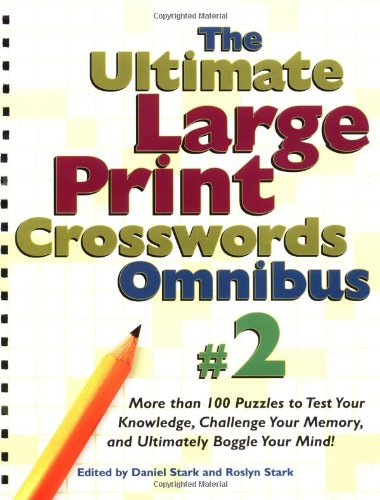 9780762414963: The Ultimate Large Print Crosswords Omnibus #2 (Ultimate Large Print Crossword Omnibus)