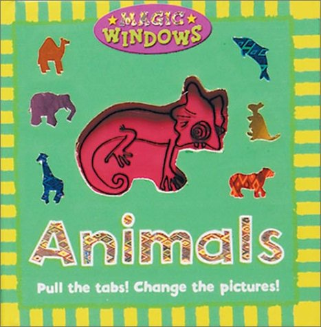 9780762416493: Animals (Magic Window Books (Running Press))