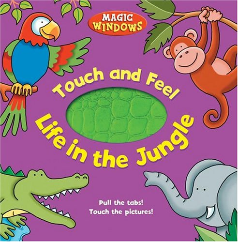 9780762418435: Life in the Jungle (Magic Window Books (Running Press))