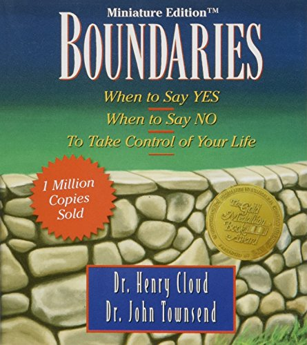 9780762421022: Boundaries: When to Say Yes, When to Say No-To Take Control of Your Life [Miniature Edition] (Inspirio/Zondervan Miniature Editions)