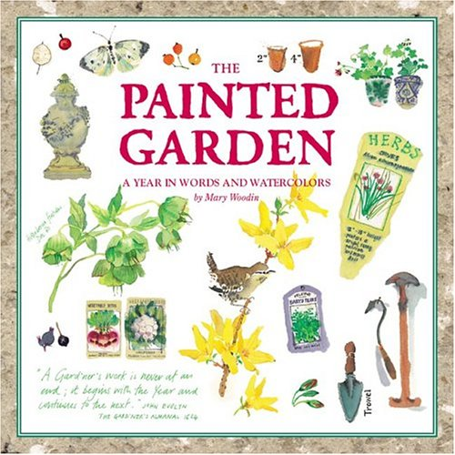 Painted Garden (Courage Inspirations): Woodin, Mary