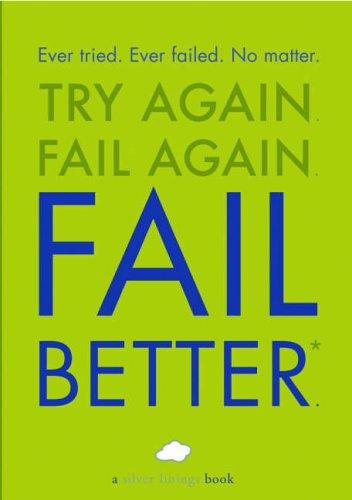 Fail Better: Herter Studio Staff; Running P