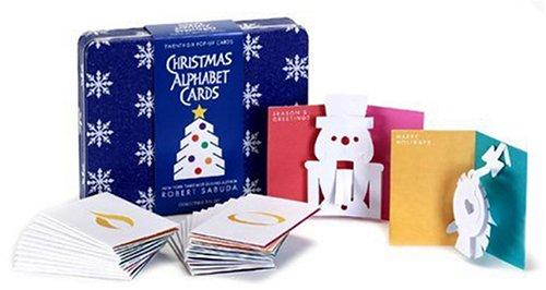 Christmas Alphabet Cards: Sabuda, Robert