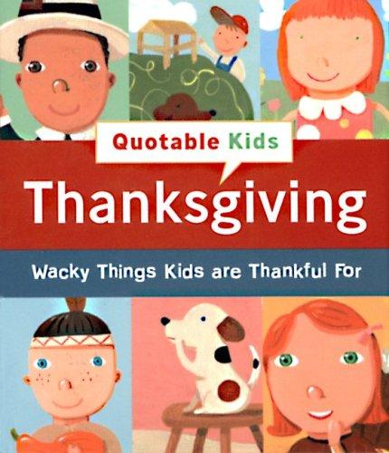 9780762428229: Quotable Kids: Thanksgiving