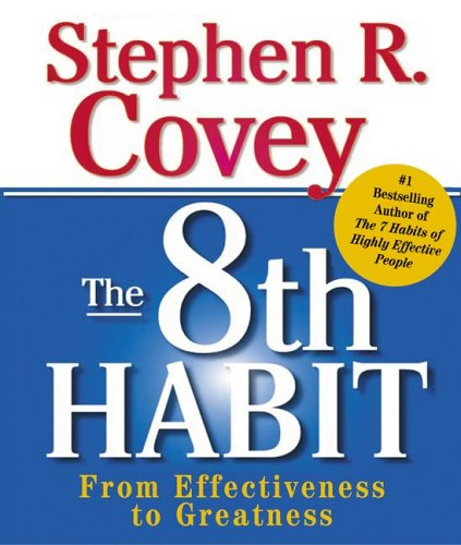 9780762428533: The 8th Habit: From Effectiveness to Greatness (Running Press Miniature Editions)