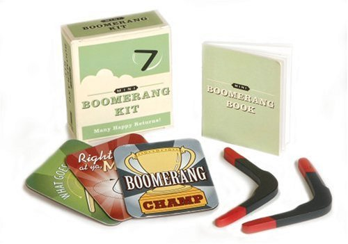 9780762429868: Mini Boomerang Kit: Many Happy Returns (Running Press Mini Kits)
