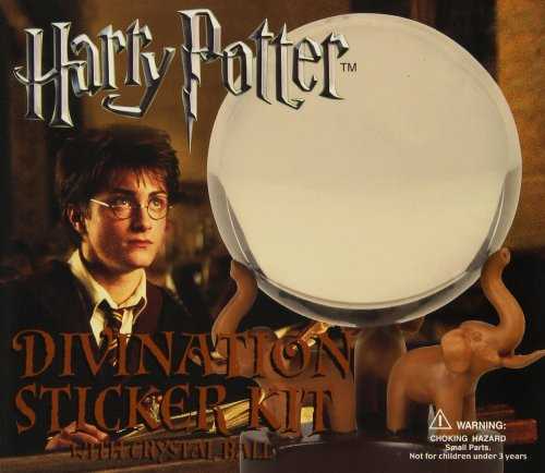 9780762430109: Harry Potter Divination Crystal Ball Sticker Kit