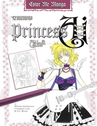 9780762431328: Color Me Manga: Princess Ai