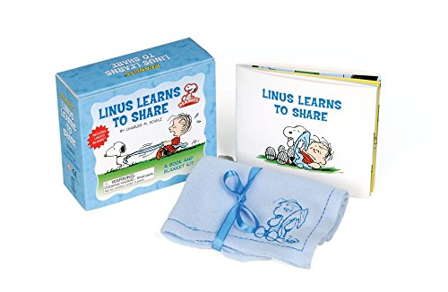 Peanuts: Linus Learns to Share: A Book and Blanket Kit (Mega Kids Kits) (0762433043) by Schulz, Charles M.