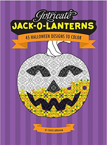 9780762433391: Intricate Jack-O-Lanterns: 45 Halloween Designs to Color