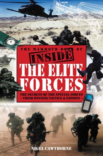 9780762433827: The Mammoth Book of Inside the Elite Forces