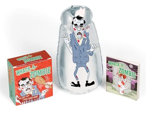 9780762434244: Whack-A-Zombie: You Can't Keep a Good Zombie Down! [With Inflatable Zombie] (Mini Kit)