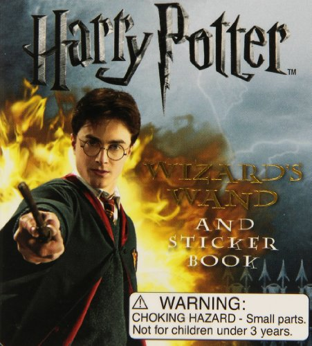 9780762434268: Harry Potter Wizard's Wand Kit and Sticker Book [With Wizards Wand]: Sticker Kit (Mega Mini Kit)