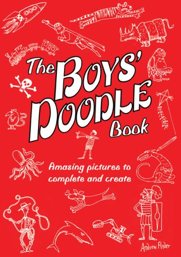 9780762435067: The Boys' Doodle Book: Amazing Pictures to Complete and Create