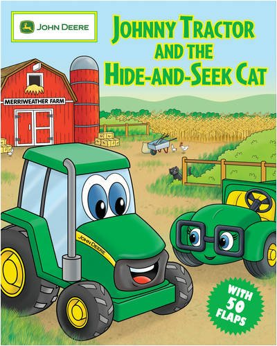 9780762435104: Johnny Tractor and the Hide-and-Seek Cat (John Deere)