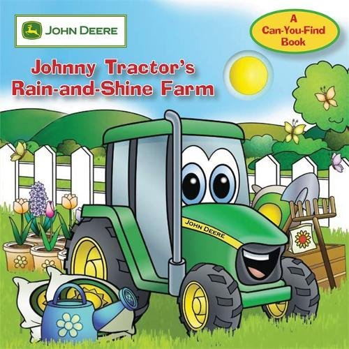 9780762435111: John Deere: Johnny Tractor's Rain-and-Shine Farm (John Deere, a Can You Find Book)