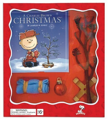 9780762435999: A Charlie Brown Christmas Tree Kit [With Christmas Tree, Wooden Tree Stand, Linus's Blanket and Ornament] (Peanuts)
