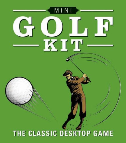 9780762436392: MINI GOLF KIT (UK ONLY): The Classic Desktop Game (Mega Mini Kit)