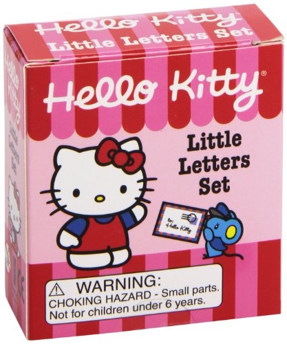 9780762437009: Hello Kitty Little Letters Set [With Sticker(s) and Envelope and Pencil and Heart-Shaped Eraser and Sharpener]