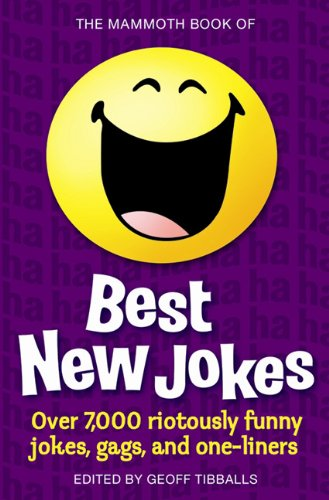 9780762437290: The Mammoth Book of Best New Jokes