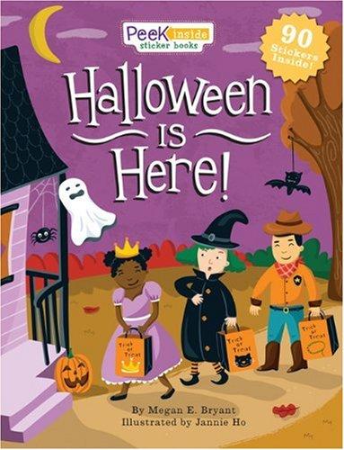 9780762437504: Peek Inside: Halloween Is Here! (Peek Inside Sticker Books)