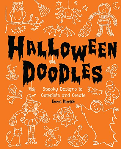 9780762437603: Halloween Doodles: Spooky Designs to Complete and Create