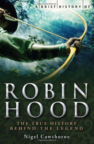 9780762438518: A Brief History of Robin Hood