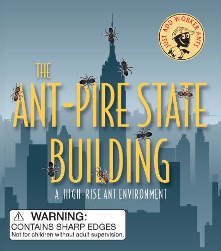 9780762438631: The Ant-Pire State Building: A High-Rise Ant Environment (Mega Mini Kits)