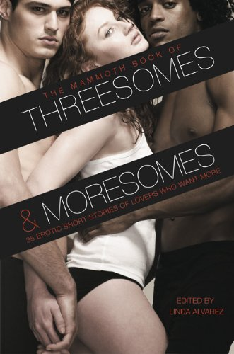 9780762439942: The Mammoth Book of Threesomes and Moresomes