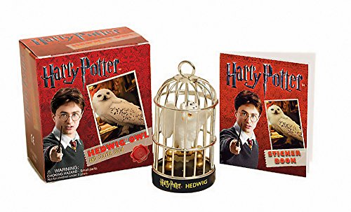 9780762440627: Harry Potter Hedwig Owl Kit and Sticker Book (Miniature Editions)