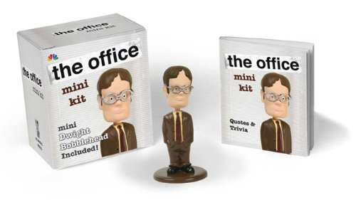 9780762442553: The Office Mini Kit: Mini Dwight Bobblehead Included!