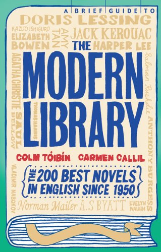 A Brief Guide to the Modern Library: Toibin, Colm, Callil,