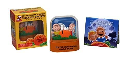 It's the Great Pumpkin, Charlie Brown Leaf Globe (Miniature Editions)