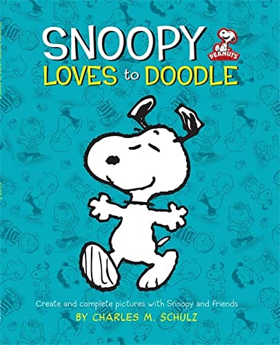 9780762443789: Snoopy Loves to Doodle: Create and Complete Pictures with the Peanuts Gang