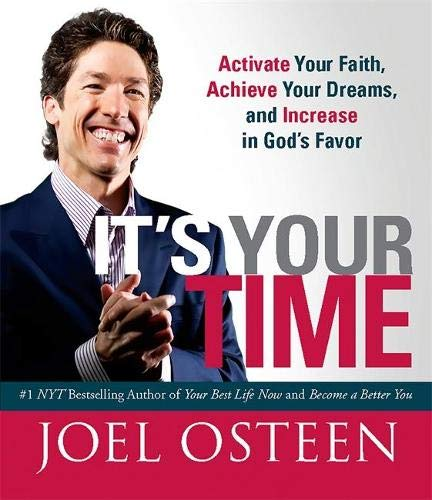 9780762444182: It's Your Time (Miniature Edition): Activate Your Faith, Achieve Your Dreams, and Increase in God's Favor (Miniature Editions)