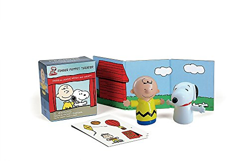 9780762447893: Peanuts Finger Puppet Theater: Starring Charlie Brown and Snoopy! (Mega Mini Kits)