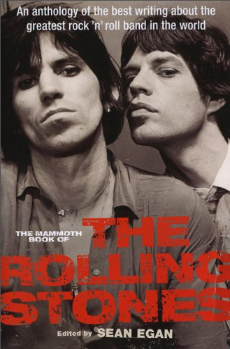 9780762448142: The Mammoth Book of the Rolling Stones