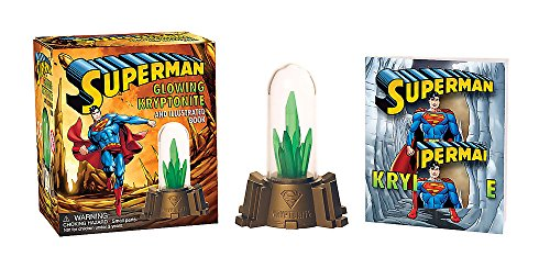 9780762449095: Superman: Glowing Kryptonite and Illustrated Book (Miniature Editions)