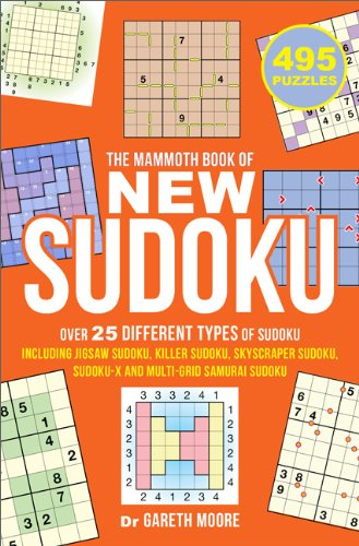 The Mammoth Book of New Sudoku (0762449365) by Gareth Moore