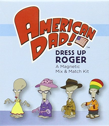 9780762449736: American Dad! Dress Up Roger Magnetic Mix & Match Kit